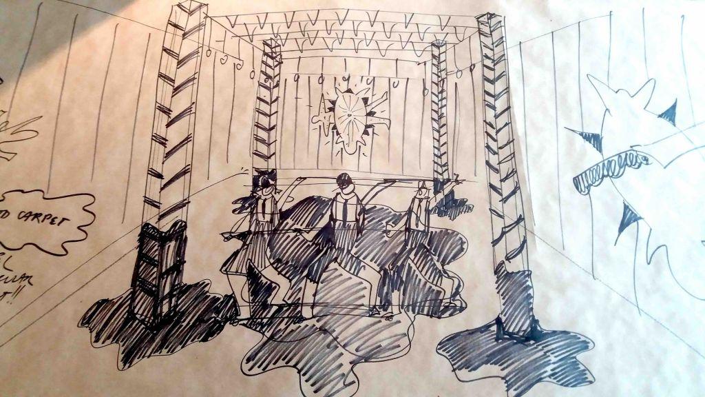 Sketches by Noam Toran